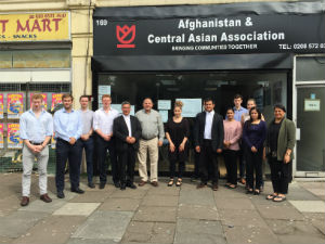 Meetign with Afghanistan and Central Asian Association