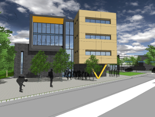 An artists impression of the Bolder Academy