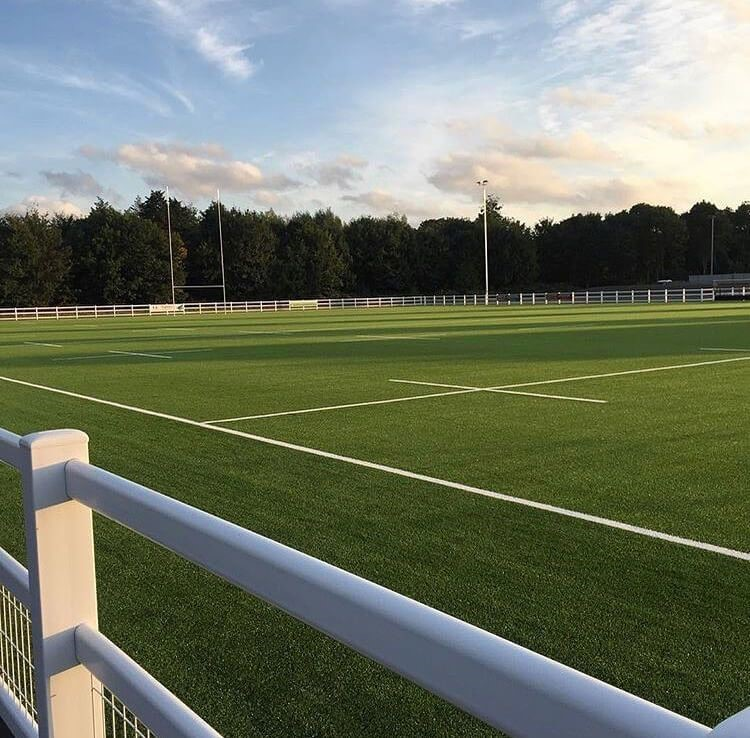 Image of the new 3G pitch at Chiswick Rugby Football Club.