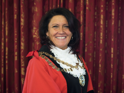 Image of Mayor of Hounslow, Cllr Sue Sampson