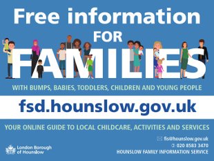 Image of the family services directory postcard