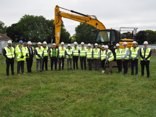 Image of the Gunnersbury park project team
