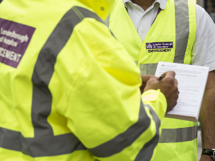 Image of Hounslow Council enforcement officers