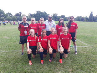 Image of Team Hounslow at the London Youth Games