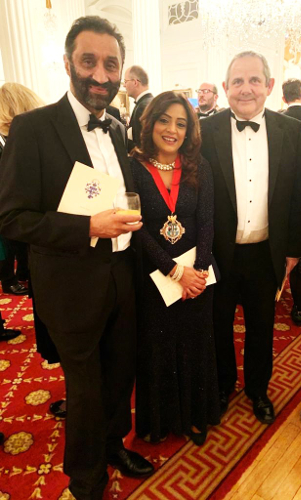 Image of Cllr Steve Curran, the Mayor of Hounslow and Dr Onkar Sahota, Chair of London Assembly Labour Group.