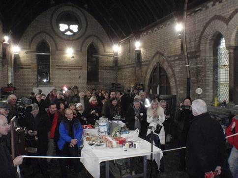 Image of Hounslow Men's Shed Charity in North Chapel, Isleworth.