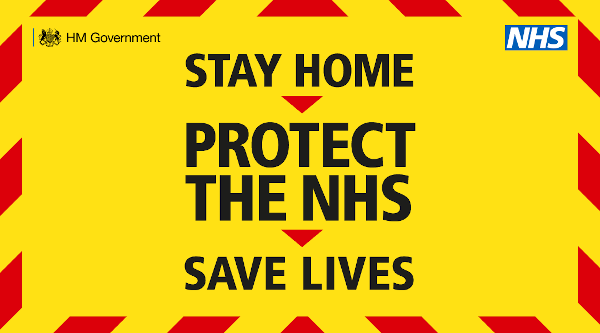 Stay home protect the NHS, save lives