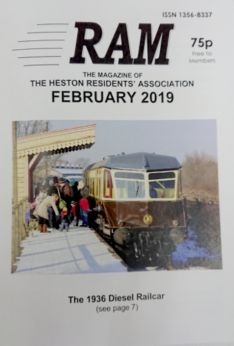 Image of the RAM Magazine created by the Heston Residents' Association.