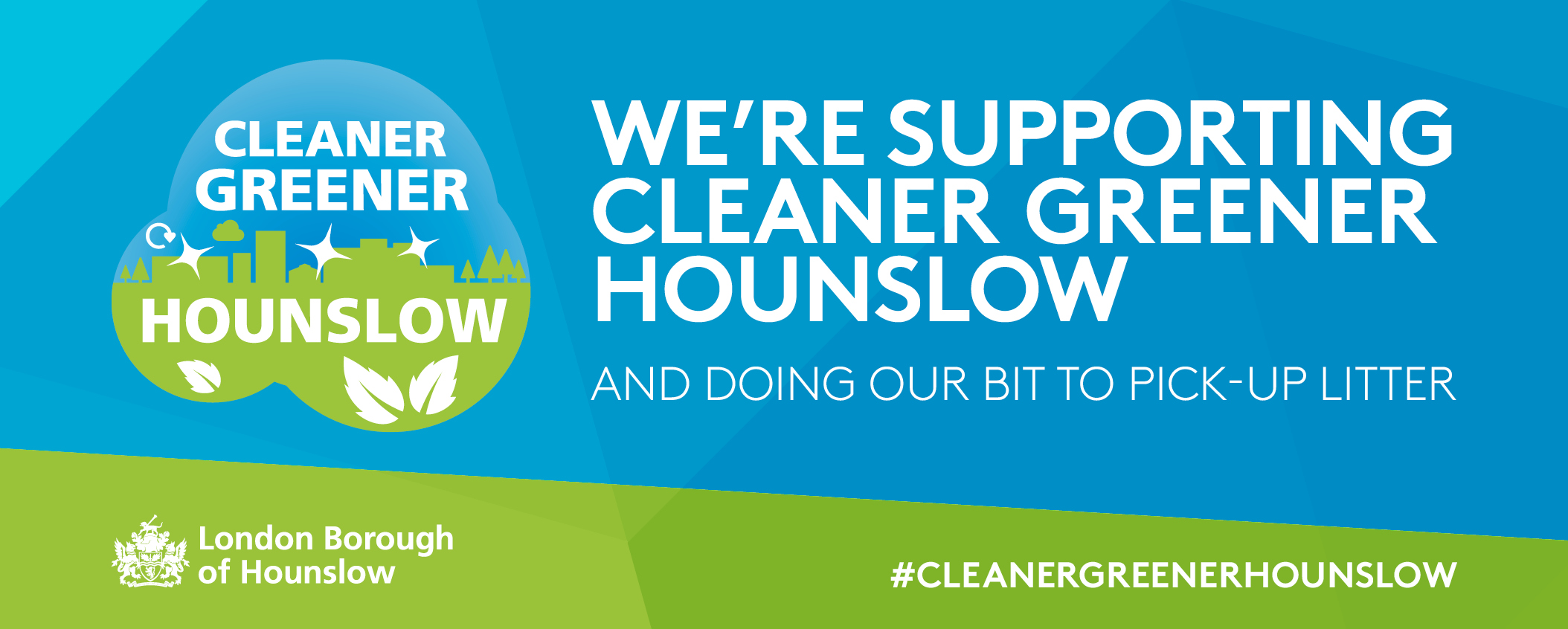 Cleaner Greener Campaign  for Twitter