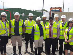 Southall Lane depot group