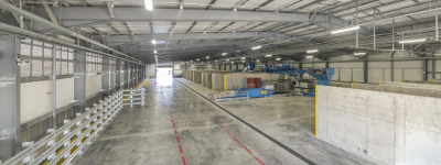 Image of the new materials handling facility at Southall Lane.