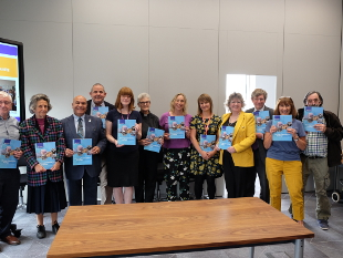 Image of residents, councillors and partners at the Thriving Communities Strategy Launch.