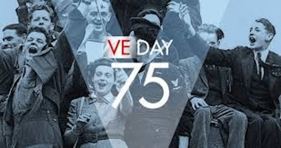 Image marking the 75th anniversary of VE Day.
