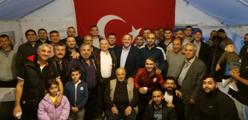 Image of Cllr Curran and the West London Turkish Group