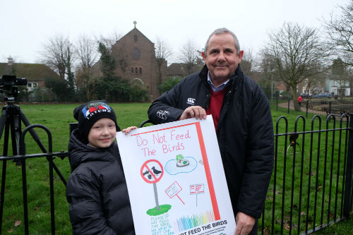 Image of poster competition winner Michael, Aged 9.