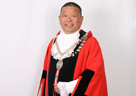 Mayor of Hounslow for 2021, Councillor Bishnu Gurung