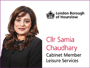 Cllr Samia Chaudhary, Cabinet Member for Leisure Services