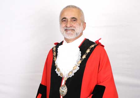 Mayor of Hounslow for 2019-20 - Councillor Tony Louki