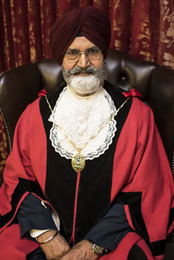 The Deputy Mayor is Cllr Sohan Sumra