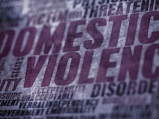 Domestic violence poster wording