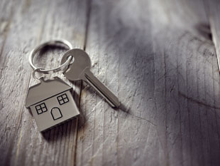 Image of an house and key