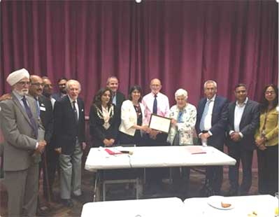 the Heston Residents Association (HRA) event with Cllr Steve Curran