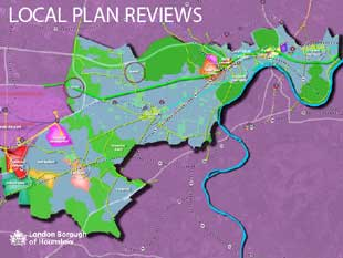 Local Plan Reviews map image