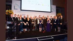 Group photo of the London Planning Awards winners.