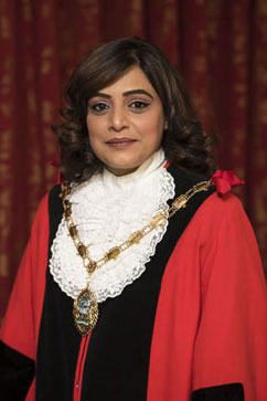 Mayor of Hounslow is Councillor Samia Chaudhary