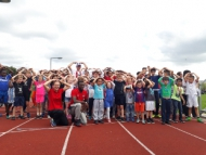 Families from around the borough enjoyed a day of athletic sports