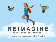 Car free day - ReImagine campaign branding