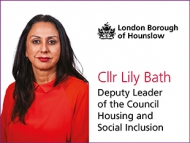 Image of Cllr Lily Bath, Deputy Leader of Hounslow Council and Lead Member for Housing.