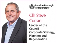 Image of Cllr Steve Curran, Leader of Hounslow Council.
