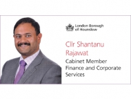 Image of Cllr Shantanu Rajawat, Cabinet Member for Finance and Corporate Services.
