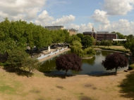 Image of Feltham Pond.