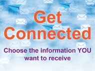 Image of the GetConnected marketing material.