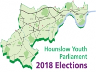 Image of the Hounslow Youth Parliament election poster.
