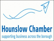 Image of the Hounslow Chamber of Commerce logo.