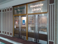 Image of Hounslow Library in the Treaty Centre, Hounslow.