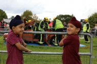 Local youngsters enjoy the Joint Services Open Day