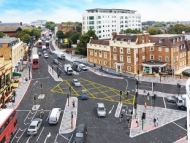 Image of TfL's proposed drawings for Kew Bridge Junction