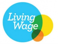 London Living Wage branding