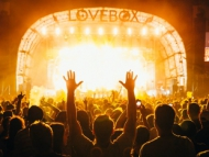 Image of the Lovebox 2017 mainstage.