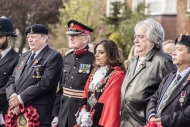 Mayor at Hanwoth Service of Remembrance
