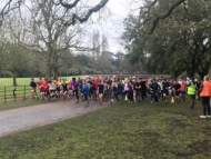 Image of the mini marathon trials at Osterley Park parkrun.