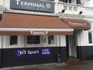 Image of Terminal 6 bar at Osterley Park Hotel.