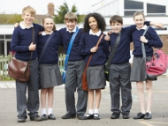 Image of secondary school children