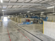 Image of inside the Southall Lane materials handling facility.
