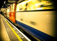 Image of a London Underground tube.