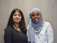 Image of new Hounslow MYP and Deputy MYP.